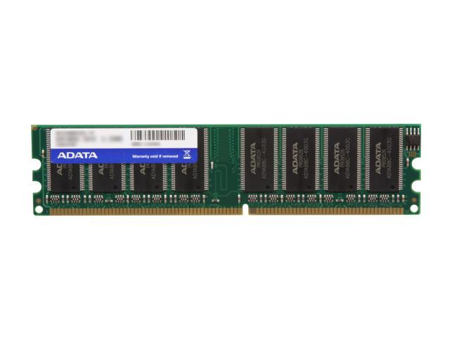 ADATA 1GB 184-Pin DDR SDRAM DDR 400 (PC 3200) Desktop Memory Model AD1U400A1G3-R