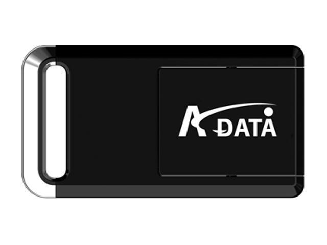 ADATA PD19 4GB Flash Drive (USB2.0 Portable) Model PD19 2.0 4G BLACK