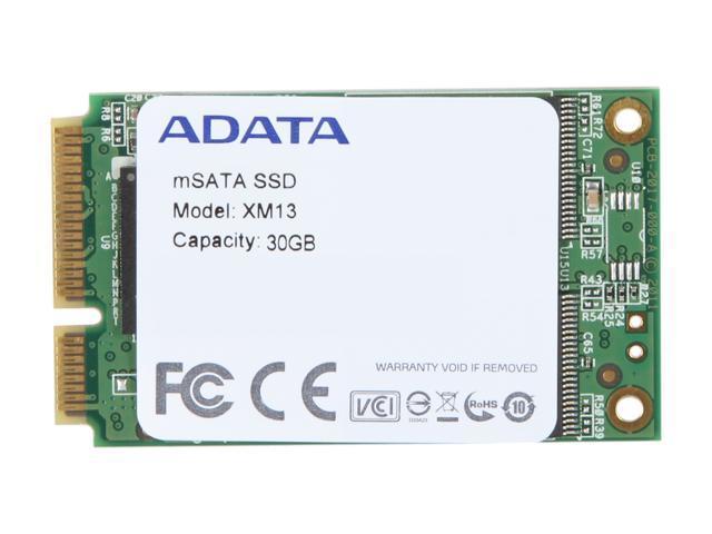 ADATA XM13 30GB Mini-SATA (mSATA) MLC Internal Solid State Drive (SSD) AXM13S2-30GM-C