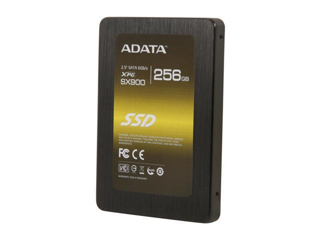 """ADATA XPG SX900 2.5"""" 256GB SATA III MLC Internal Solid State Drive (SSD) ASX900S3-256GM-C"""