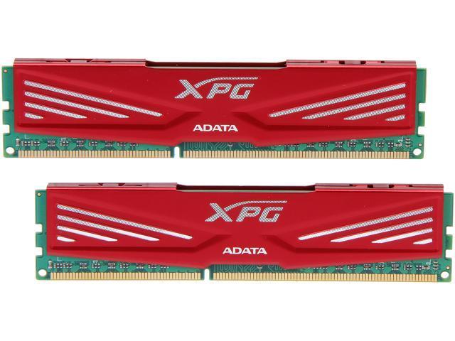 ADATA XPG V1.0 series 16GB (2 x 8GB) 240-Pin DDR3 SDRAM DDR3 2133 (PC3 17000) Desktop Memory Model AX3U2133XW8G10-2X