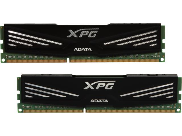 ADATA XPG V1.0 series 16GB (2 x 8GB) 240-Pin DDR3 SDRAM DDR3 1600 (PC3 12800) Desktop Memory Model AX3U1600GW8G9-2G