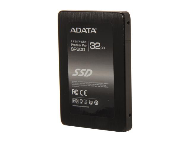 "ADATA Premier SP600 2.5"" 32GB SATA III MLC Internal Solid State Drive (SSD) ASP600S3-32GM-C"