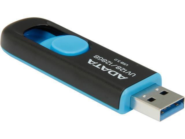 ADATA 128GB UV128 USB 3.0 Flash Drive (AUV128-128G-RBE)