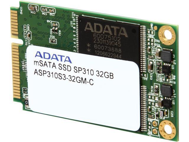 ADATA Premier Pro SP310 ASP310S3-32GM-C mSATA 32GB SATA 6Gb/s MLC Internal Solid State Drive (SSD)