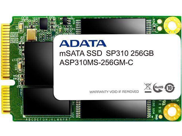 ADATA Premier Pro SP310 mSATA 256GB SATA 6Gb/s MLC Internal Solid State Drive (SSD) ASP310S3-256GM-C