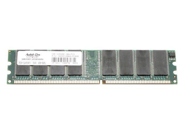 EP Memory 1GB 184-Pin DDR SDRAM DDR 400 (PC 3200) System Memory Model AB32C12864-PC400
