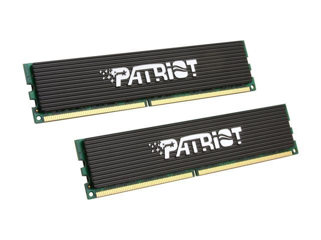 Patriot Extreme Performance 2GB (2 x 1GB) 240-Pin DDR2 SDRAM DDR2 1150 (PC2 9200) Dual Channel Kit Desktop Memory Model PDC22G9200ELK