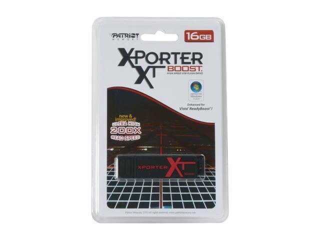 Patriot Xporter XT Boost 16GB Flash Drive (USB 2.0 Portable) Model PEF16GUSB