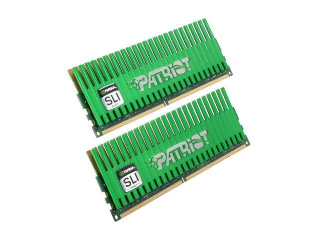 Patriot Viper 4GB (2 x 2GB) 240-Pin DDR2 SDRAM DDR2 800 (PC2 6400) Desktop Memory w/Futuremark 3DMark Vantage Key Bundle Model PVS24G6400LLKNB