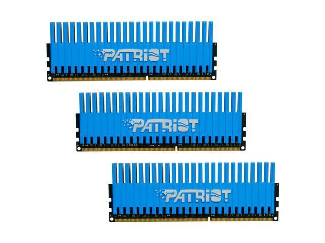 Patriot Viper 6GB (3 x 2GB) 240-Pin DDR3 SDRAM DDR3 1600 (PC3 12800) Desktop Memory Model PVT36G1600ELK