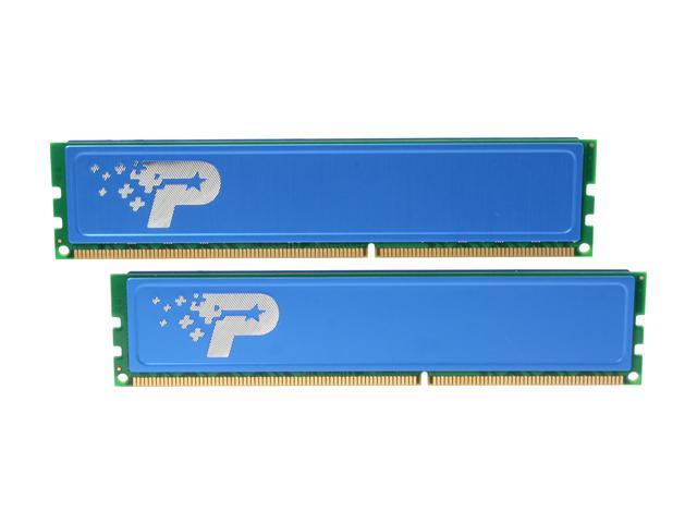 Patriot Signature Line 8GB (2 x 4GB) 240-Pin DDR3 SDRAM DDR3 1600 (PC3 12800) Desktop Memory Model PSD38G1600KH