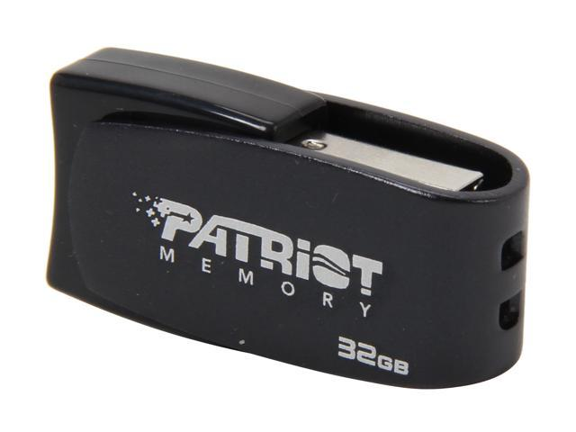 Patriot Axle 32GB USB 2.0 Flash Drive (Gray) Model PSF32GAUSBG