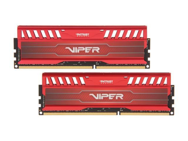 Patriot Viper 3 16GB (2 x 8GB) 240-Pin DDR3 SDRAM DDR3 2133 (PC3 17000) Desktop Memory Model PV316G213C1KRD
