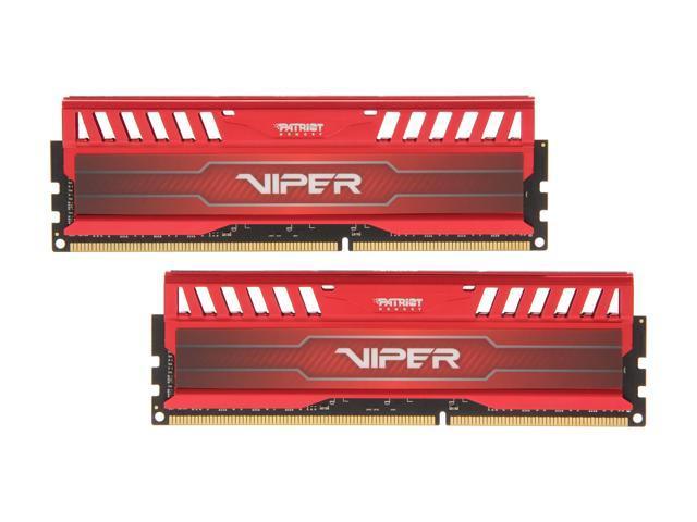 Patriot Viper 3 8GB (2 x 4GB) 240-Pin DDR3 SDRAM DDR3 1600 (PC3 12800) Desktop Memory Model PV38G160C9KRD