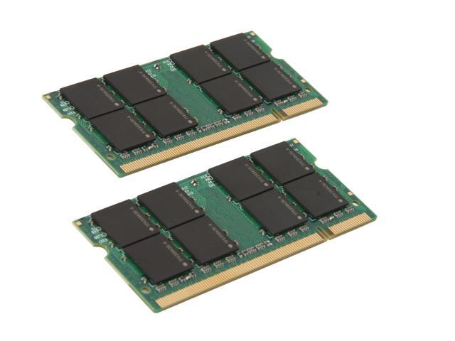 Mushkin Enhanced 4GB (2 x 2GB) 200-Pin DDR2 SO-DIMM DDR2 667 (PC2 5300) Dual Channel Kit Memory For Apple Model 976618A