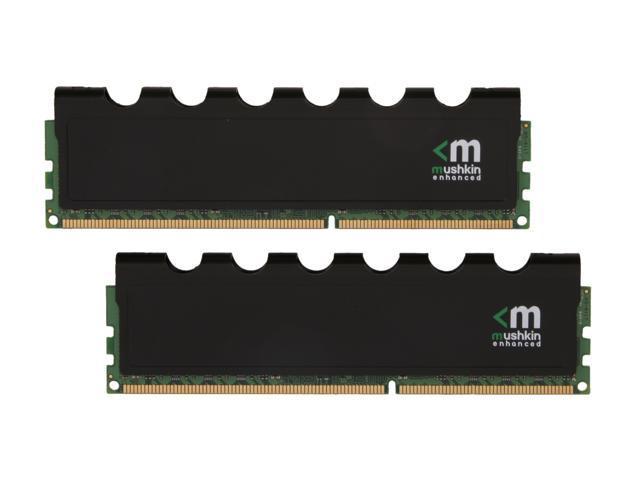 Mushkin Enhanced Blackline 8GB (2 x 4GB) 240-Pin DDR3 SDRAM DDR3L 1600 (PC3L 12800) Desktop Memory Model 996988