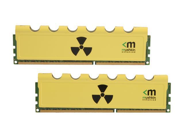 Mushkin Enhanced Radioactive 8GB (2 x 4GB) 240-Pin DDR3 SDRAM DDR3 1600 (PC3 12800) Desktop Memory Model 997005