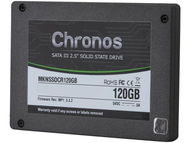 "Mushkin Enhanced Chronos 2.5"" 120GB SATA III MLC Internal Solid State Drive (SSD) MKNSSDCR120GB"