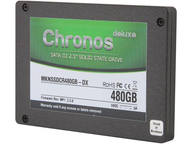 "Mushkin Enhanced Chronos 2.5"" 480GB SATA III MLC Internal Solid State Drive (SSD) MKNSSDCR480GB-DX"