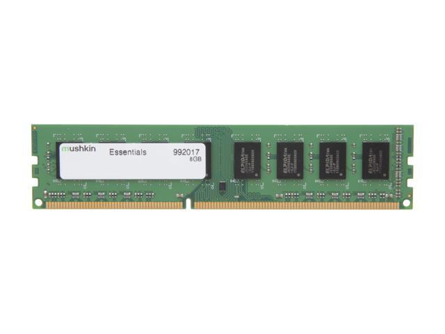 Mushkin Enhanced Essentials 8GB 240-Pin DDR3 SDRAM DDR3 1333 (PC3 10600) Desktop Memory Model 992017