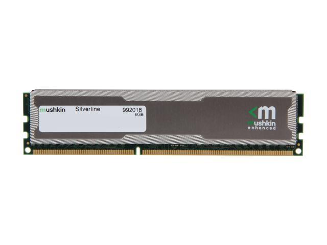 Mushkin Enhanced Silverline 8GB 240-Pin DDR3 SDRAM DDR3 1333 (PC3 10600) Desktop Memory Model 992018