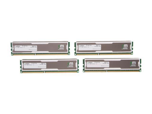 Mushkin Enhanced Silverline 16GB (4 x 4GB) 240-Pin DDR3 SDRAM DDR3 1333 (PC3 10666) Desktop Memory Model 993770