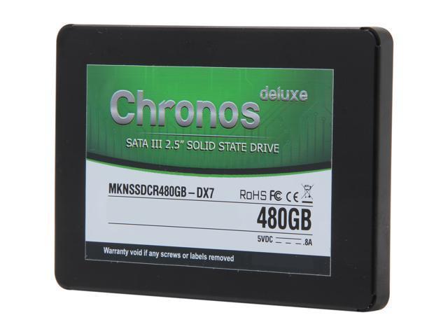 """Mushkin Enhanced 2.5"""" 480GB SATA III 7mm Internal Solid State Drive (SSD) MKNSSDCR480GB-DX7"""