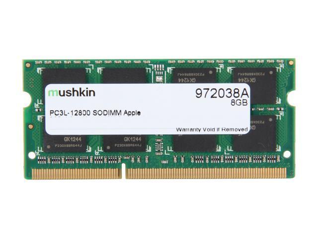 Mushkin Enhanced 8GB DDR3 1600 (PC3 12800) Memory for Apple                                                                                    Model 972038A