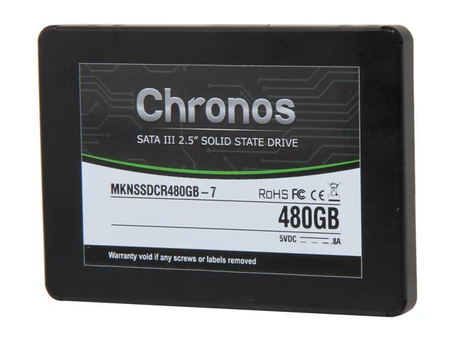 "Mushkin Enhanced Chronos 2.5"" 480GB SATA III 7mm Internal Solid State Drive (SSD) MKNSSDCR480GB-7"