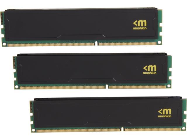 Mushkin Enhanced STEALTH 12GB (3 x 4GB) 240-Pin DDR3 SDRAM DDR3 1600 (PC3 12800) Desktop Memory Model 998995S