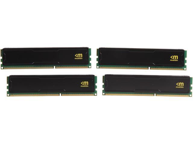 Mushkin Enhanced STEALTH 16GB (4 x 4GB) 240-Pin DDR3 SDRAM DDR3 1600 (PC3 12800) Desktop Memory Model 993995S