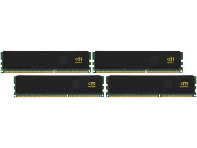 Mushkin Enhanced STEALTH 32GB (4 x 8GB) 240-Pin DDR3 SDRAM DDR3 1600 (PC3 12800) Desktop Memory Model 994069S