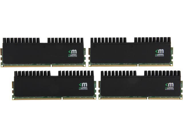 Mushkin Enhanced Blackline 32GB (4 x 8GB) 240-Pin DDR3 SDRAM DDR3 2400 (PC3 19200) Desktop Memory Model 994123R