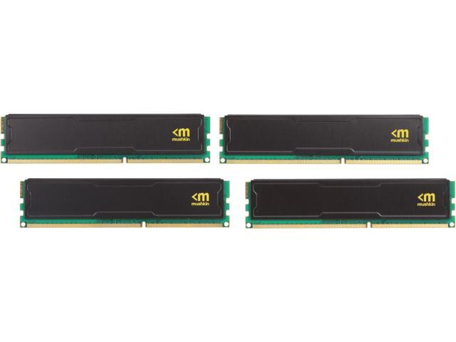 Mushkin Enhanced Stealth 16GB (4 x 4GB) 240-Pin DDR3 SDRAM DDR3 2800 (PC3 22400) Desktop Memory Model 994126S