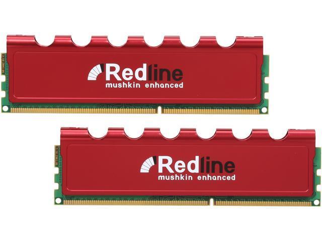 Mushkin Enhanced Redline 8GB (2 x 4GB) 240-Pin DDR3 SDRAM DDR3 1600 (PC3 12800) Desktop Memory Model 997165