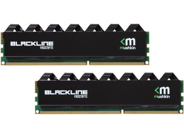 Mushkin Enhanced Blackline 8GB (2 x 4GB) 240-Pin DDR3 SDRAM DDR3 2133 (PC3 17000) Desktop Memory Model 997181F