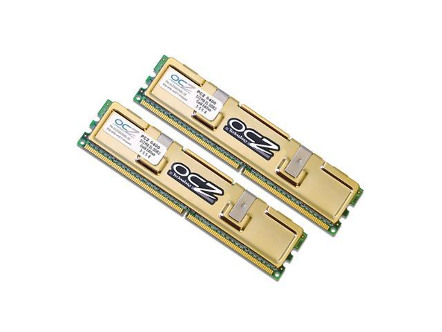 OCZ Gold 2GB (2 x 1GB) 240-Pin DDR2 SDRAM DDR2 800 (PC2 6400) Dual Channel Kit Desktop Memory Model OCZ28002048ELDCGE-K