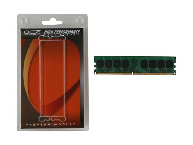 OCZ Value Series 1GB 240-Pin DDR2 SDRAM DDR2 667 (PC2 5400) Desktop Memory Model OCZ26671024V