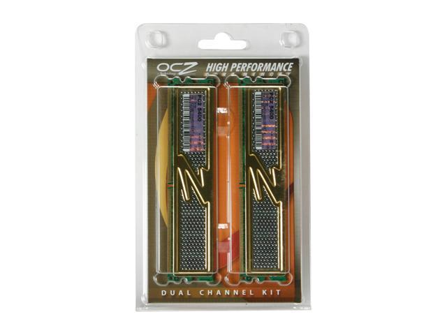 OCZ Gold Series 2GB (2 x 1GB) 240-Pin DDR2 SDRAM DDR2 667 (PC2 5400) Dual Channel Kit Desktop Memory Model OCZ26672048ELGEGXT-K