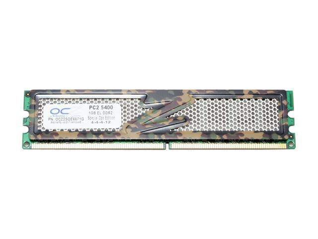 OCZ S.O.E 1GB 240-Pin DDR2 SDRAM DDR2 667 (PC2 5400) Desktop Memory Model OCZ2SOE6671G
