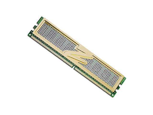 OCZ Gold 1GB 240-Pin DDR2 SDRAM DDR2 800 (PC2 6400) Desktop Memory Model OCZ2G8001G