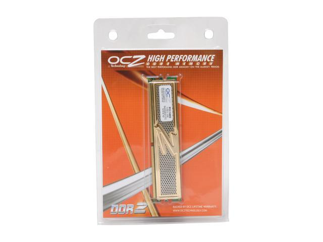 OCZ Gold 512MB 240-Pin DDR2 SDRAM DDR2 800 (PC2 6400) Desktop Memory Model OCZ2G800512