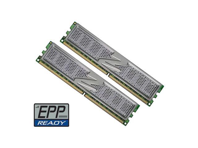 OCZ Titanium 1T 2GB (2 x 1GB) 240-Pin DDR2 SDRAM DDR2 800 (PC2 6400) EPP Dual Channel Kit Desktop Memory