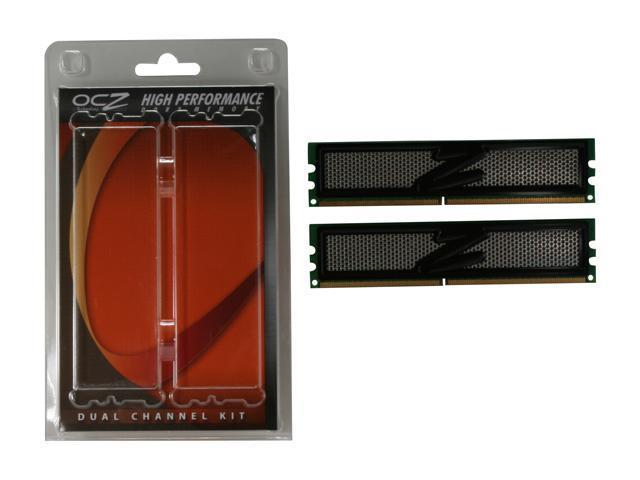 OCZ Vista Upgrade 2GB (2 x 1GB) 240-Pin DDR2 SDRAM DDR2 800 (PC2 6400) Dual Channel Kit Desktop Memory Model OCZ2VU8002GK