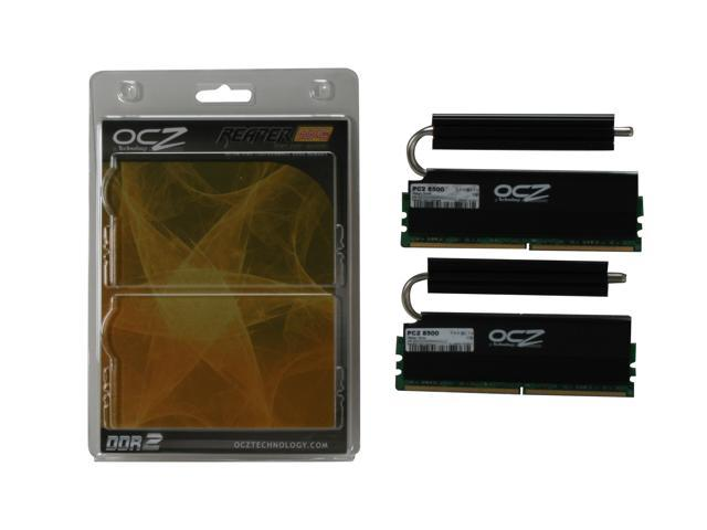 OCZ Reaper HPC 2GB (2 x 1GB) 240-Pin DDR2 SDRAM DDR2 1066 (PC2 8500) Dual Channel Kit Desktop Memory Model OCZ2RPR10662GK