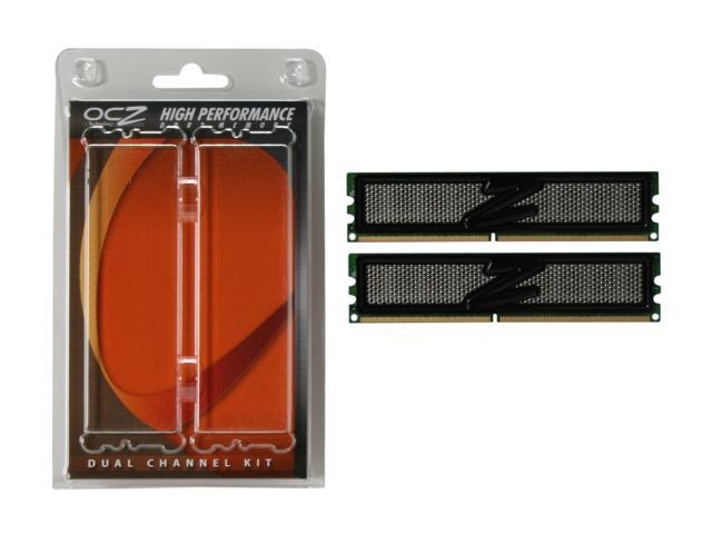 OCZ Vista Upgrade 4GB (2 x 2GB) 240-Pin DDR2 SDRAM DDR2 800 (PC2 6400) Dual Channel Kit Desktop Memory Model OCZ2VU8004GK