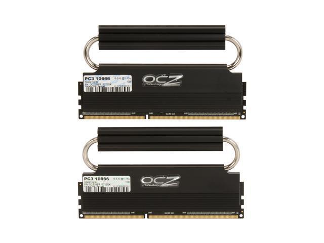 OCZ Reaper HPC 2GB (2 x 1GB) 240-Pin DDR2 SDRAM DDR2 1150 (PC2 9200) Dual Channel Kit Desktop Memory Model OCZ2RPR11502GK
