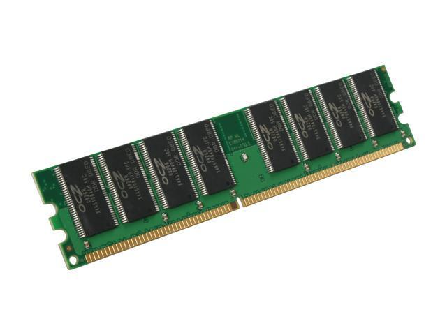 OCZ Value Series 1GB 184-Pin DDR SDRAM DDR 400 (PC 3200) Desktop Memory Model OCZ4001024V3