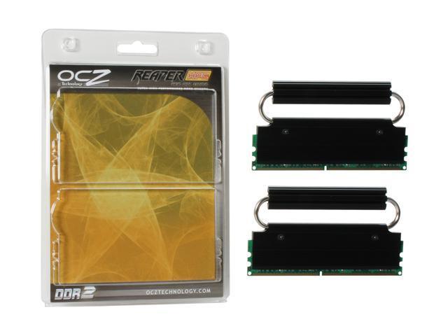 OCZ Reaper HPC Edition 2GB (2 x 1GB) 240-Pin DDR2 SDRAM DDR2 800 (PC2 6400) Dual Channel Kit Desktop Memory Model OCZ2RPR8002GK